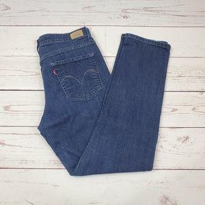 Levi's Mid Rise Skinny Jeans Size 14 M | Dark